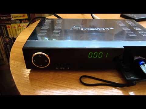 Цифровой эфирный ресивер Т2 EUROSKY ES-1030