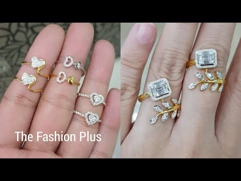 Diamond Rings Designs In Gold