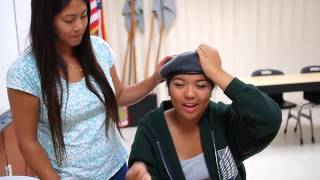 Mount Miguel High School JROTC Tutorial - How to Shape Your Beret - 2014-2015