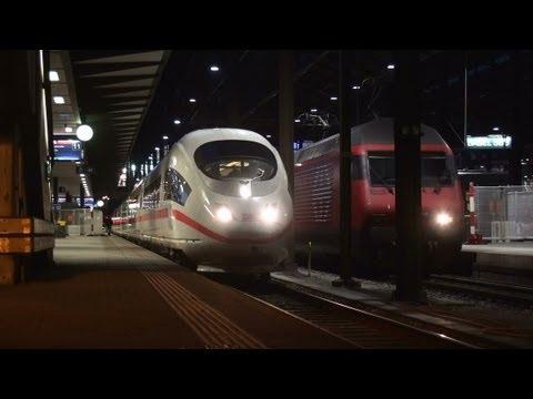 Trains/Züge/Eisenbahn – Makrospezial Zug und Tram