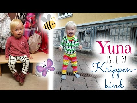 Yunas erste Woche in der KRIPPE | Die Eingewöhnung | Vlog