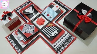 Explosion Box Tutorial / DIY Explosion Box/How to Make Explosion Box/DIY Birthday Gift