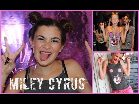 Miley Cyrus VMA Tutorial – Hair, Makeup, and DIY Costume!