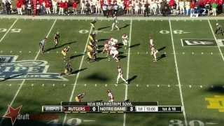 Stephon Tuitt vs Rutgers (2013)