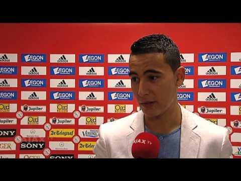 Ajax wil contract El Ghazi verlengen tot zomer 2018