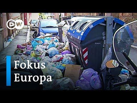 Rom versinkt im Müll - das soll sich ändern | Fokus Europa