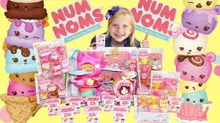 Num Noms Stackable Scented Ice Cream Toys Unboxing BRAND NEW JUST RELEASED!! BLIND BOX TOO!