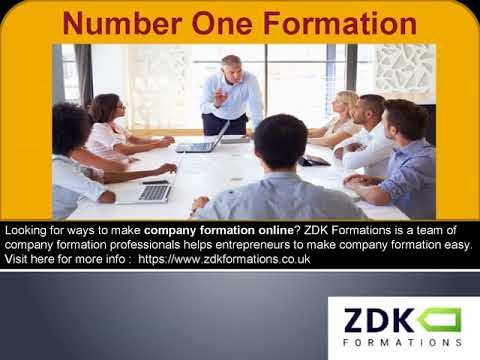 Company Formation Agents   Incorporate Limited Company   ZDKFormation