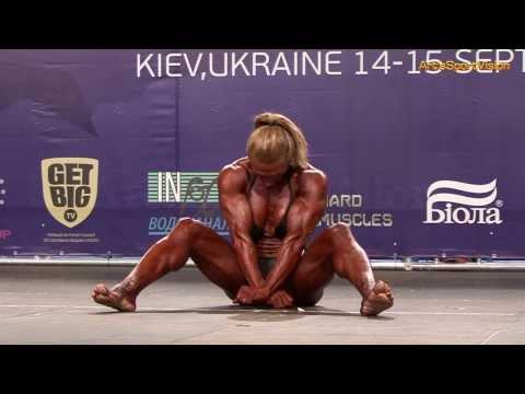 2013 World IFBB – FAITH Deniz (SWE) Women's BODYBUILDING – Round 3