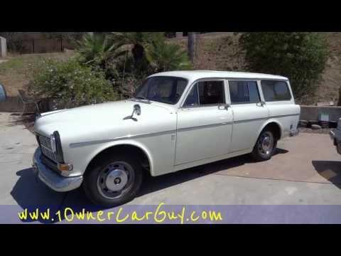 Volvo Amazon 122S Station Wagon Test Diagnosis Repair Drive ~ Find and Fix Problem Video