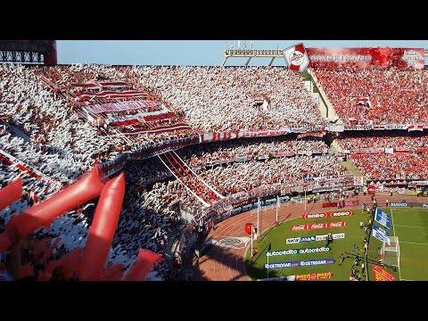 RECIBIMIENTO en 4K - River Plate vs Boca Jrs / Torneo 2016 - Los Borrachos del Tablón - River Plate