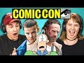 CON TRAILERS (Walking Dead, Thor, Stranger Things)