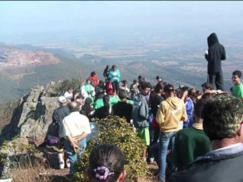 Primeira Missa na Pedra Grande em Igarapé - MG