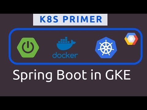 Deploying Spring Boot In Kubernetes | Google Kubernetes Engine | K8s Primers | Tech Primers