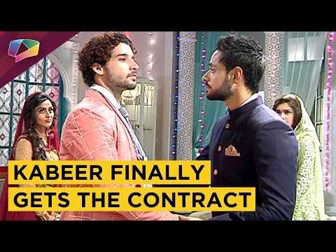 Finally The Contract Is In Kabeer's Hand|Ishq Subh