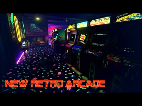 [Ретро Игры] New Retro Arcade - Обзор Симулятор игровых автоматов