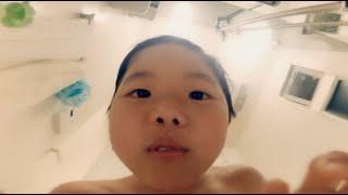 石鹸目線でお風呂場から家族を優しく見守る/牛乳石鹸PR映像「小さくなるまで」