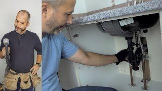 DIY Bathroom Sink Removal