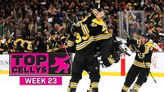 Top Cellys of the Week: Lindsay Tribute, Pavelski, Bruins
