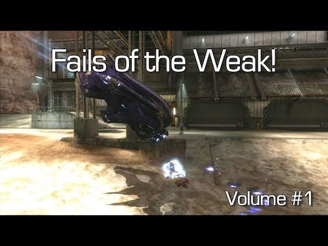 Fails of the Weak - Volume #1 (Funny Halo Reach Bloopers) Video