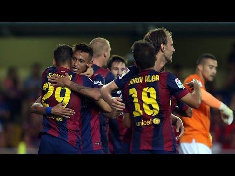 Villarreal vs Barcelona (0-1) All Goals & Highlights 31.08.2014