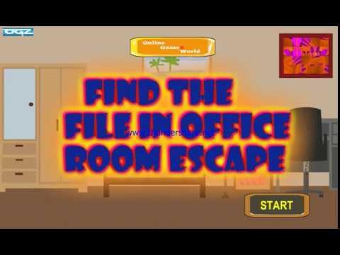 Find The File in Office Room Escape walkthrough-onlinegamezworld ...