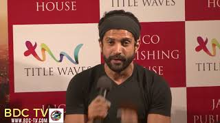 "Farhan Akhtar: ""I'm against anything being BANNED"""