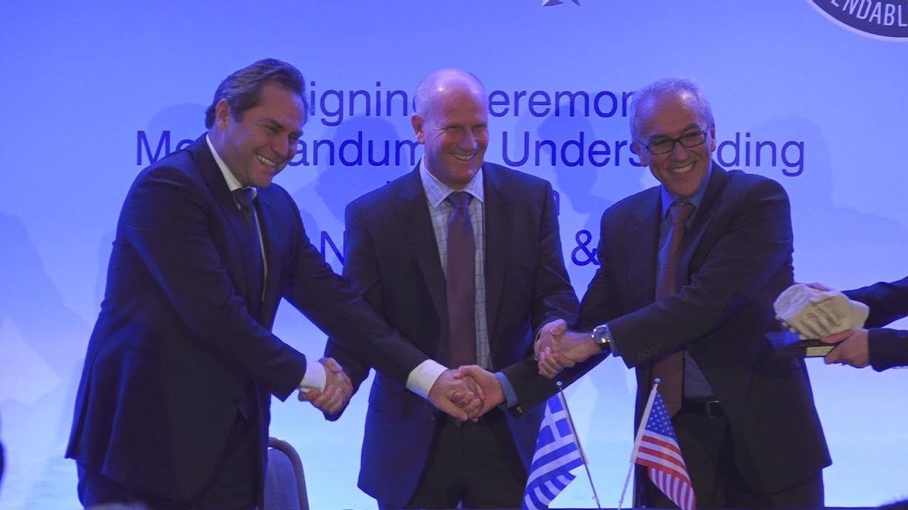 Υπογραφή προσυμφώνου AEGEAN – PRATT & WHITNEY
