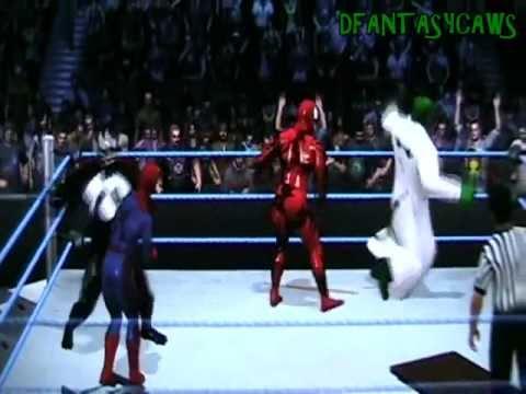 *Spiderman vs Lizard vs Venom vs Carnage*