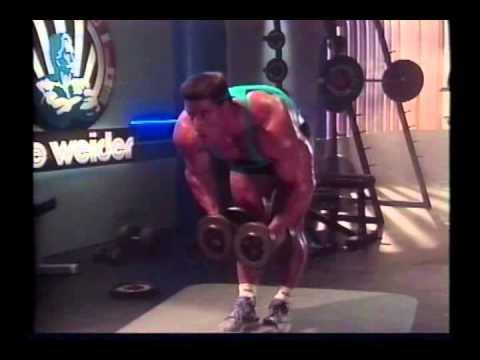 Joe Weider's Bodybuilding Training System Tape 5 – Legs & Shoulders