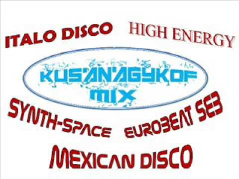 Italo Disco Russian Synth High Energy Mix Marzo 2107 (видео)