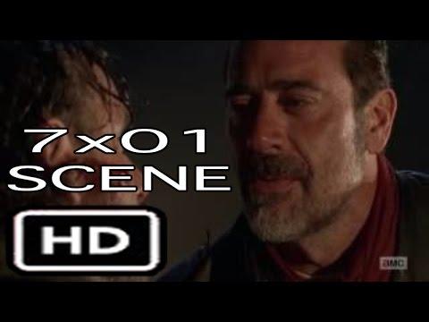 "The Walking Dead 7x01 ""Opening Scene"" Negan and Rick Season 7 Episode 1"