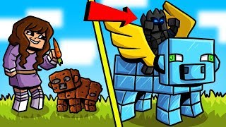 Minecraft: EPIC BUILD BATTLE!! - NOOB VS PRO! - Mini-Game