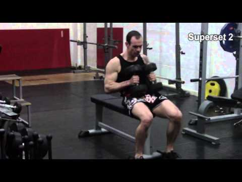 Functional strength and muscle building for MuayThai – session A