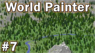 •️ World Painter Tutorial - #7 - Forests