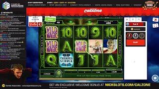 BIG WIN on Thunderstruck 2 Slot - £4.80 Bet