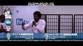 BASKETMOUTH ON ''IGBO SMOKERS'' - African Kings Of Comedy - Valentine 2013 Tkts: Www.cokobar.com
