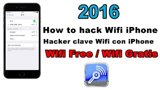 [2013] how to hack Wifi with iPhone / Hackear clave Wifi con iPhone
