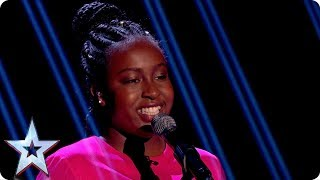 After being chosen as the Judges' Wild Card, Sarah Ikumu and her big voice are back with a point to prove! Can she go that one step further and take the title with her version of Andra Day's Rise Up? See more from Britain's Got Talent at http://itv.com/talentSUBSCRIBE: http://bit.ly/BGTsubFacebook: http://www.facebook.com/BGTTwitter: http://twitter.com/BGT