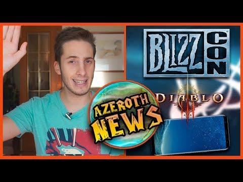 Azeroth News: Calendario Blizzcon, Warcraft MMORTS, Christie Golden y Diablo 3