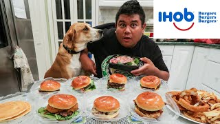 Video Ihob Ihop Every Burger Challenge MP3, 3GP, MP4, WEBM, AVI, FLV Oktober 2018