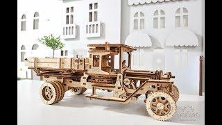 3D пъзел камион