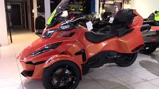 10. 2019 Can-Am RT LTD DARK - New 3 Wheel Motorcycle For Sale - Lodi, Ohio
