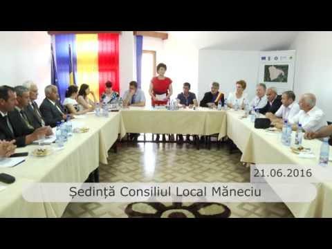 Emisiunea Proiecte pentru comunitate – Ședința Consiliului Local Măneciu – 23 iunie 2016