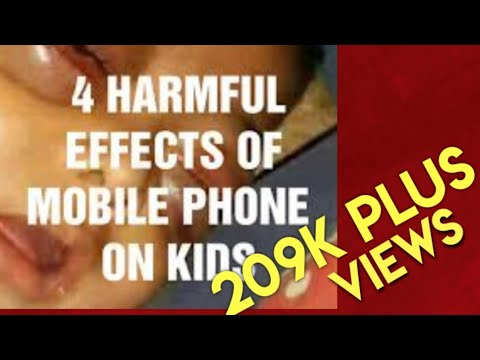 Harmful Effects Of Mobile Phones On Kids By Dr.V.Sunilraj