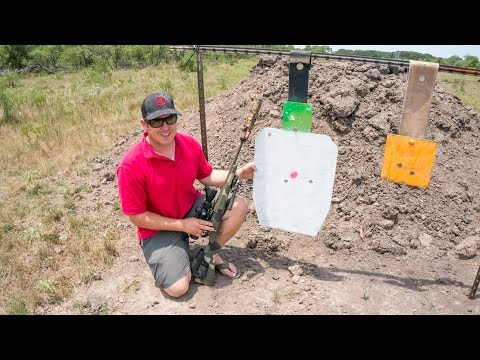 Long Range Shooting: 300 blackout 1000 yards!