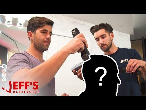 ACTOR JOSH PECK WORKS IN A BARBERSHOP NOW? | Jeff's Barbershop