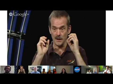 ISS Astronaut Chris Hadfield Talks About Adjusting to Life with Gravity – Video