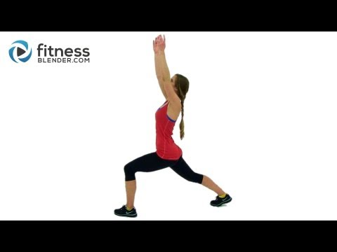 Yoga Cardio Blend – Yoga for Weight Loss – Yoga Inspired Cardio & Toning Workout by Fitness Blender