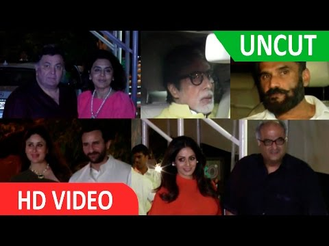 UNCUT- Star Studded Birthday Party Of Ranbir Kapoor Host By Reema Jain